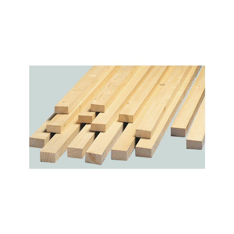 Holzlatten getrocknet 28/48 mm, 400 cm