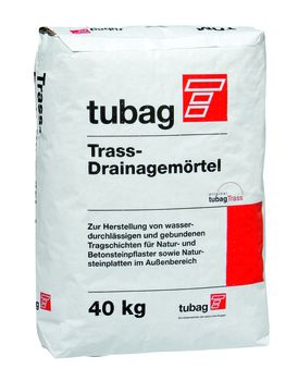 tubag Trass-Drainagemörtel TDM 40kg